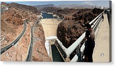 Acrylic Print featuring the photograph Hoover Dam II by Russell Smidt