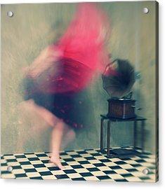 Hop Skip And Jump Acrylic Print