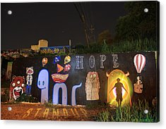 Hope Acrylic Print by Andrew Nourse
