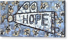 Hope Acrylic Print by Anthony Falbo