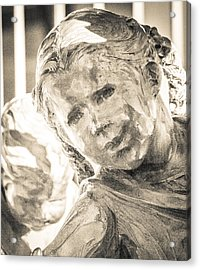 Hope Behind Bars Acrylic Print by Richard Brown
