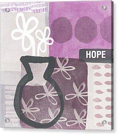 Hope- Contemporary Art Acrylic Print
