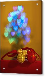 Hope Every Day Is A Happy New Year Acrylic Print by Evelina Kremsdorf