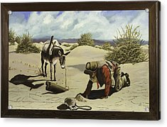 Hope In The Desert Acrylic Print