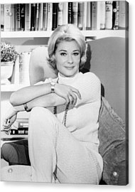 Hope Lange In The New Dick Van Dyke Show  Acrylic Print by Silver Screen
