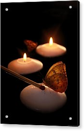 Hope Lights A Flame Acrylic Print