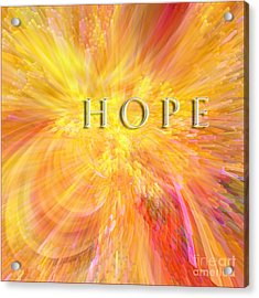 Hope Acrylic Print by Margie Chapman
