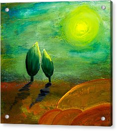 Hope Acrylic Print by Nirdesha Munasinghe