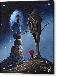 Hope Still Lives Here By Shawna Erback Acrylic Print by Shawna Erback