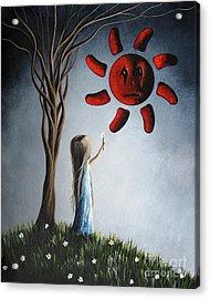 Hope You Feel Better Soon By Shawna Erback Acrylic Print by Shawna Erback
