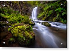 Hopetoun Falls Acrylic Print by Lincoln Harrison