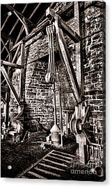 Hopewell Furnace Acrylic Print by Olivier Le Queinec
