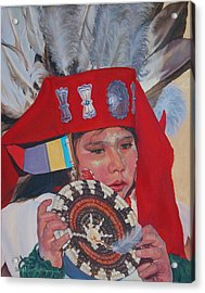 Hopi Basket Dancer Acrylic Print