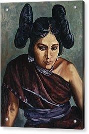 Hopi Jewel Acrylic Print