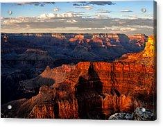 Hopi Point Sunset Acrylic Print