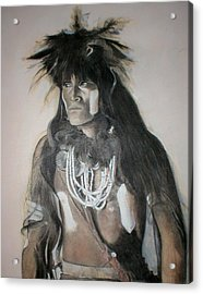 Hopi Snake Priest Acrylic Print