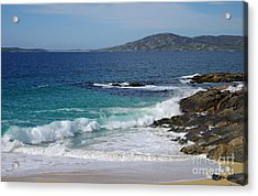 Acrylic Print featuring the photograph Horgabost Beach Harris by Jacqi Elmslie
