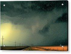 Horizon-1 Acrylic Print by David Blank