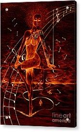 Horizon Of Fire Acrylic Print