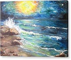 Acrylic Print featuring the painting Horizons by Cheryl Pettigrew