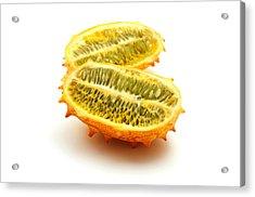 Acrylic Print featuring the photograph Horned Melon by Fabrizio Troiani