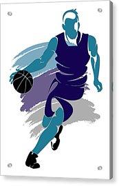 Hornets Basketball Player2 Acrylic Print