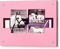 Horse And Rider C Acrylic Print