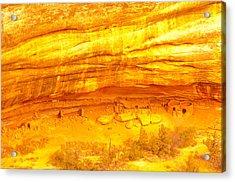 Horse Collar Ruins Acrylic Print by Jeff Swan
