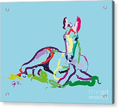 Horse - Foal - Sweetie Acrylic Print