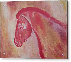 Horse From Chauvet Cave Acrylic Print