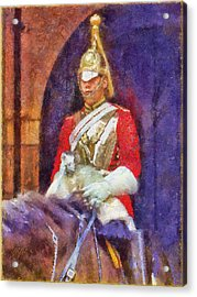 Horse Guard No.1 Acrylic Print by Rick Lloyd