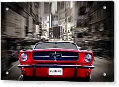 Horse Power Acrylic Print by Mark Rogan