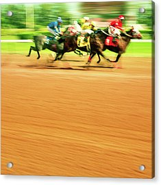 Horse Racing Acrylic Print by Thepalmer