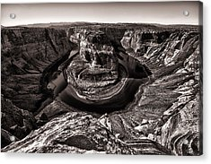 Horse Shoe Bend Acrylic Print by Juan Carlos Diaz Parra