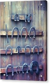 Horse Shoes Acrylic Print by JAMART Photography