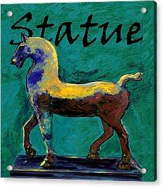 Horse Statue Acrylic Print