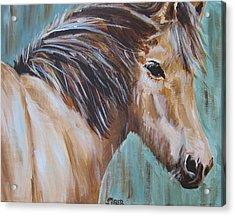 Horse Whisper Acrylic Print