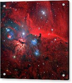 Horsehead And Flame Nebulae Acrylic Print