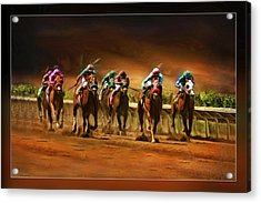 Horse's 7 At The End Acrylic Print