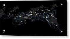 Horses - Cavalli Acrylic Print by Ze  Di