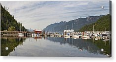 Acrylic Print featuring the photograph Horseshoe Bay Vancouver Bc Canada by JPLDesigns