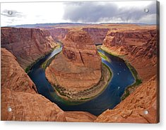 Horseshoe Bend View 1 Acrylic Print