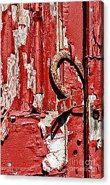 Horseshoe Door Handle Acrylic Print by Paul Ward