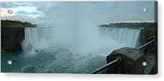 Acrylic Print featuring the photograph Horseshoe Falls by Dennis Lundell