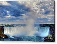 Horseshoe Falls Acrylic Print