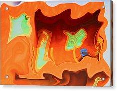 Horseshoe Gambler Acrylic Print by Nick David