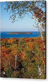 Acrylic Print featuring the photograph Horseshoe Island by Chuck De La Rosa