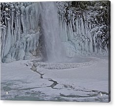 Acrylic Print featuring the photograph Horsetail Falls Cu A by Todd Kreuter