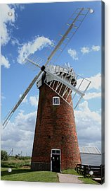 Horsey Windpump Acrylic Print by Paul Lilley