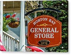 Horton Bay General Store Acrylic Print